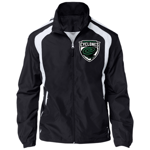 Oklahoma City Cyclones | Street Gear | Embroidered Jersey-Lined Jacket