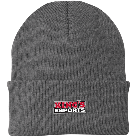 King's Esports | Street Gear | Embroidered Knit Cap