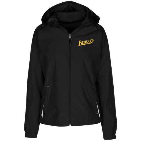 BVU Esports | Street Gear | Embroidered Ladies' Jersey-Lined Hooded Windbreaker