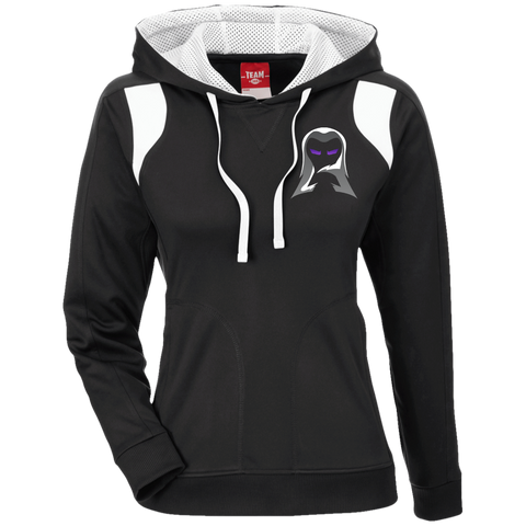 Aeon | Street Gear | Ladies' Colorblock Poly Hoodie [Embroidered]