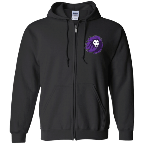 Lions Esports | Street Gear | Embroidered Zip Up Hooded Sweatshirt