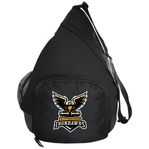 Pittsburgh Ironhawks | Street Gear | Embroidered Active Sling Pack