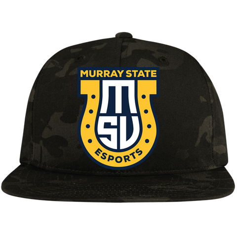 Murray State Esports | Street Gear | Embroidered Flat Bill High-Profile Snapback Hat