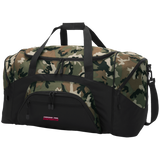 Cherokee Trail Esports | Street Gear | Embroidered Colorblock Sport Duffel