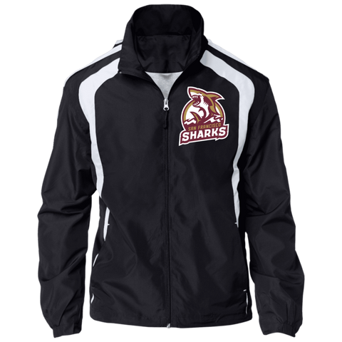 San Francisco Sharks | Street Gear | Embroidered Jersey-Lined Jacket