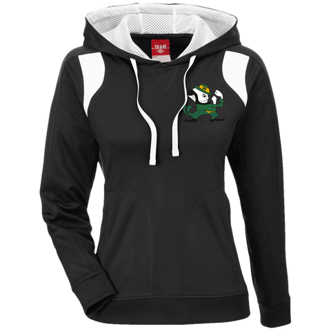 Bishop McNamara | Street Gear | Ladies' Colorblock Poly Hoodie [Embroidered]