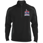 New York City Barons | Street Gear | Embroidered Sport Wicking Colorblock 1/2 Zip