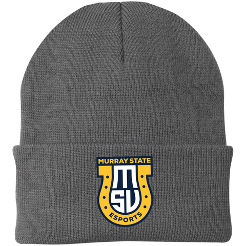 Murray State Esports | Street Gear | Embroidered Knit Cap