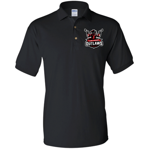Las Vegas Outlaws | Street Gear | Embroidered Jersey Polo Shirt