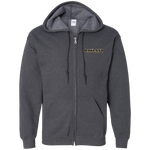 Oakland University Rocket League Club | Street Gear | Embroidered Zip Up Hooded Sweatshirt