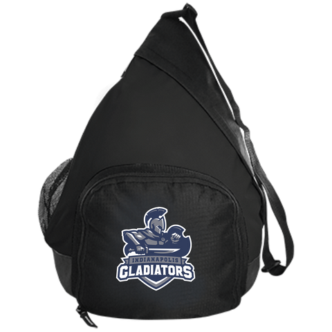 Indianapolis Gladiators | Street Gear | Embroidered Active Sling Pack