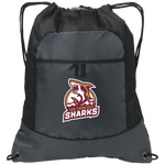 San Francisco Sharks | Street Gear | Embroidered Pocket Cinch Pack