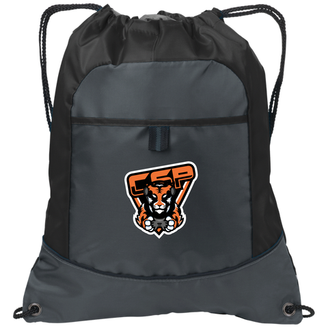 CSP High School | Street Gear | {Embroidered]  Pocket Cinch Pack