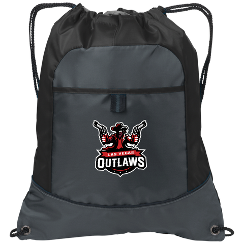 Las Vegas Outlaws | Street Gear | Embroidered Pocket Cinch Pack