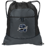 Carolina Rattlers | Street Gear | Embroidered Pocket Cinch Pack