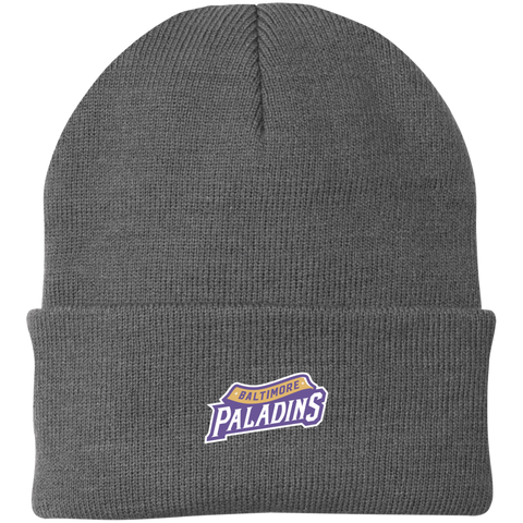 Baltimore Paladins | Street Gear | Embroidered Knit Cap