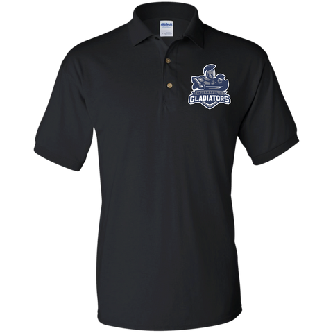 Indianapolis Gladiators | Street Gear | Embroidered Jersey Polo Shirt