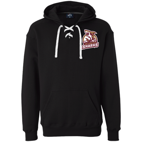 San Francisco Sharks | Street Gear | Embroidered Heavyweight Sport Lace Hoodie