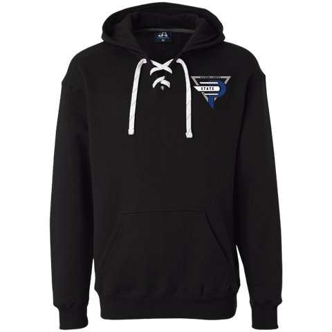 Esports at Penn State Altoona | Street Gear | Embroidered Heavyweight Sport Lace Hoodie