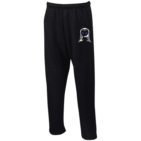 Aeon | Street Gear | Open Bottom Sweatpants with Pockets [Embroidered]