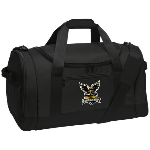 Pittsburgh Ironhawks | Street Gear | Embroidered Travel Sports Duffel