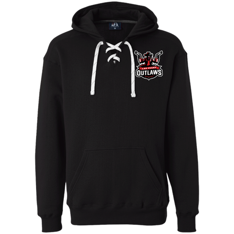 Las Vegas Outlaws | Street Gear | Embroidered Heavyweight Sport Lace Hoodie