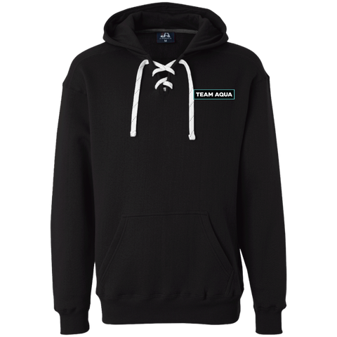 Team Aqua | Street Gear | Heavyweight Sport Lace Hoodie [Embroidered]