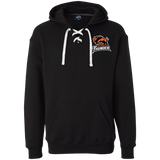 Nebraska Thunder | Street Gear | Embroidered Heavyweight Sport Lace Hoodie