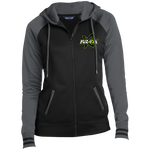Fuzion | Street Gear | Embroidered Ladies' Moisture Wick Full-Zip Hooded Jacket