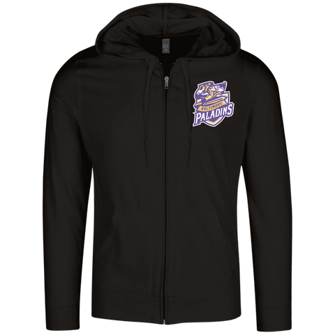 Baltimore Paladins | Street Gear | Embroidered Lightweight Full Zip Hoodie