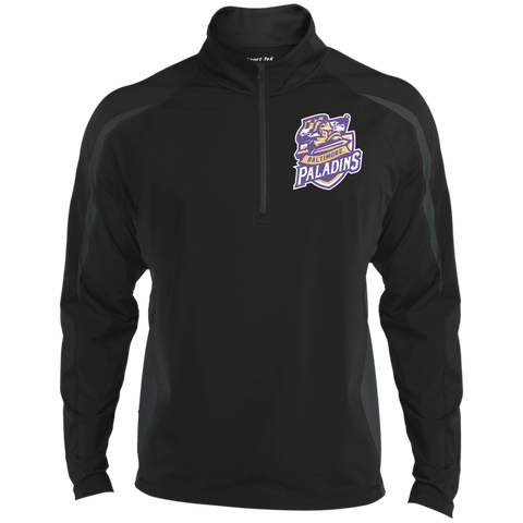 Baltimore Paladins | Street Gear | Embroidered Sport Wicking Colorblock 1/2 Zip