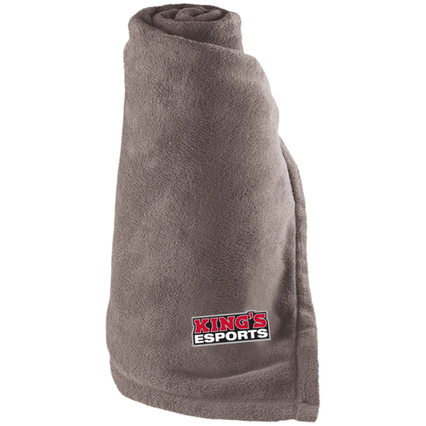 King's Esports | Street Gear | Embroidered Large Fleece Blanket