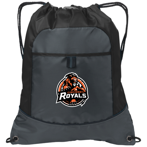 Cincinnati Royals | Street Gear | Embroidered Pocket Cinch Pack