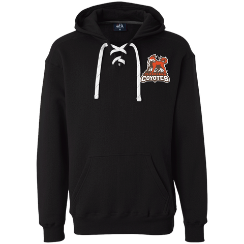 Cleveland Coyotes | Street Gear | Embroidered Heavyweight Sport Lace Hoodie