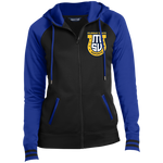 Murray State Esports | Street Gear | Embroidered Ladies' Moisture Wick Full-Zip Hooded Jacket