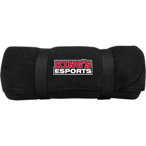 King's Esports | Street Gear | Embroidered Fleece Blanket