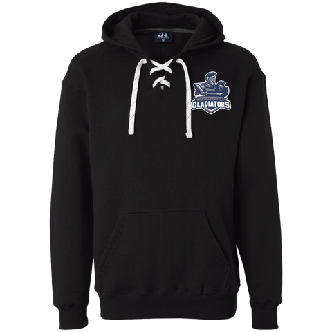 Indianapolis Gladiators | Street Gear | Embroidered Heavyweight Sport Lace Hoodie