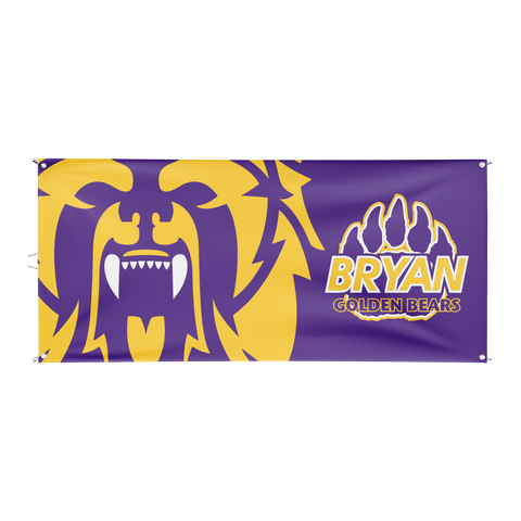 Bryan Golden Bears Flag