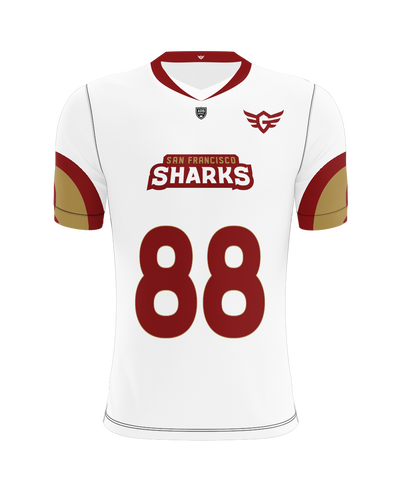 San Francisco Sharks Away Jersey