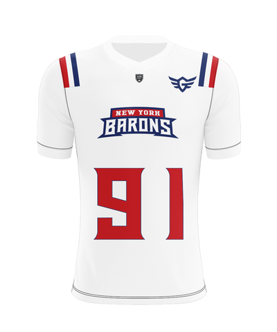 New York City Barons Away Jersey
