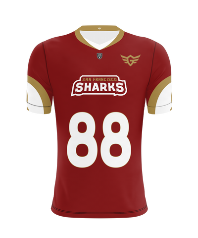 San Francisco Sharks Home Jersey