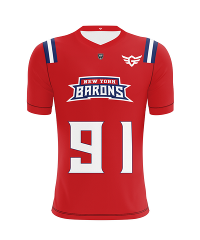 New York City Barons Home Jersey