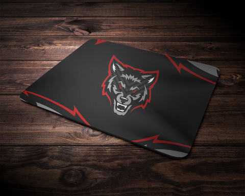 The Wolf Pack Mouse Pad