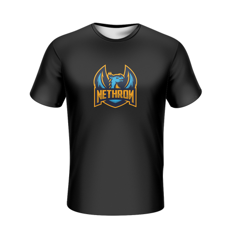 Nethron Esports Black T-Shirt