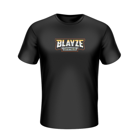 BlayzeGames Black T-Shirt