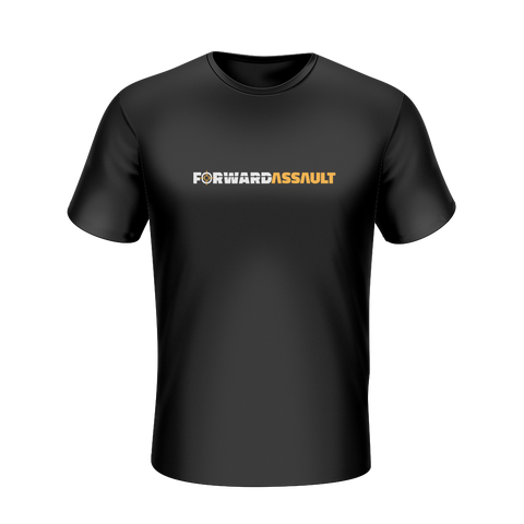 Forward Assault Black T-Shirt