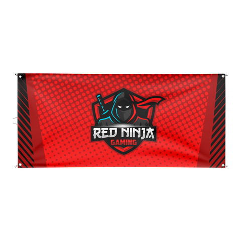 Red Ninja Gaming Flag