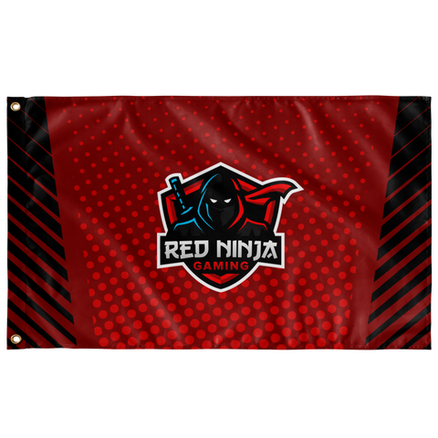 Red Ninja Gaming | Street Gear | Sublimated Flag