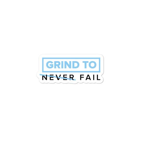 Never Fail | Street Gear | Sticker Alternate