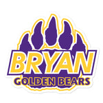 Bryan Golden Bears | Street Gear | Sticker Alternate